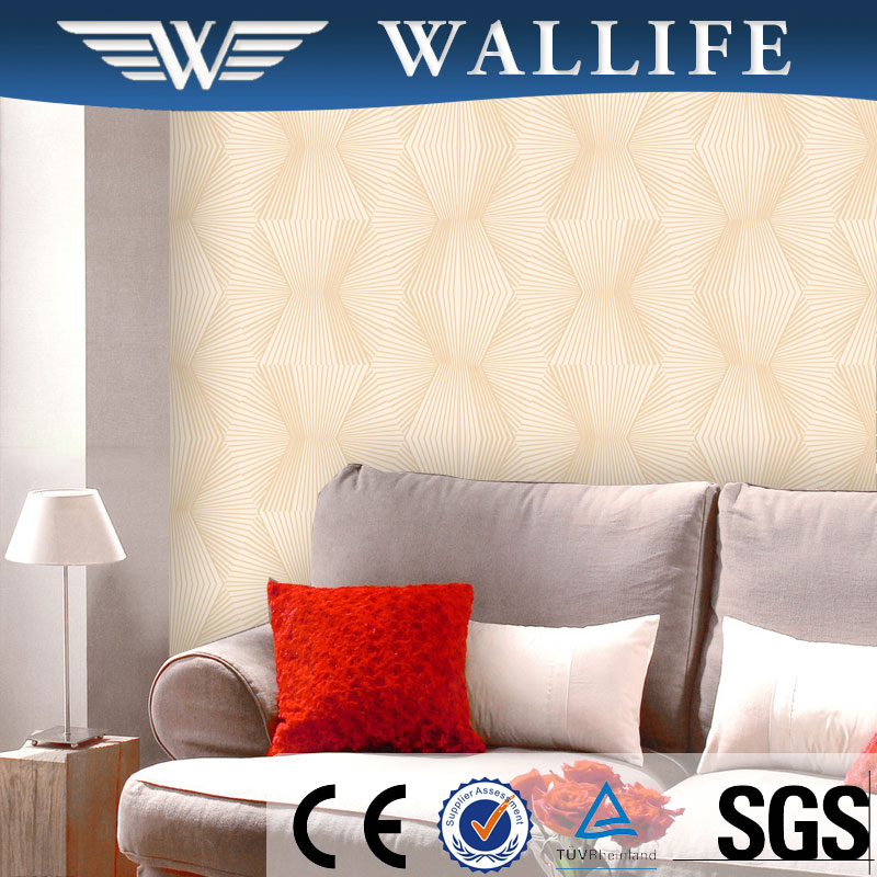 DF10804 modern design washable embossed PVC wallcovering