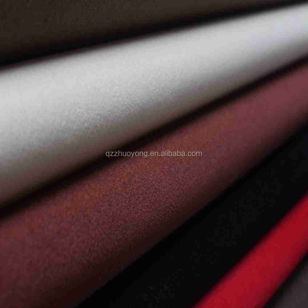 PU synthetic leather flocking fabric for shoe upper material leather shoe