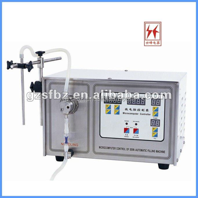 Double Tube Gear Pump Liquid Filling Machine for Small Business