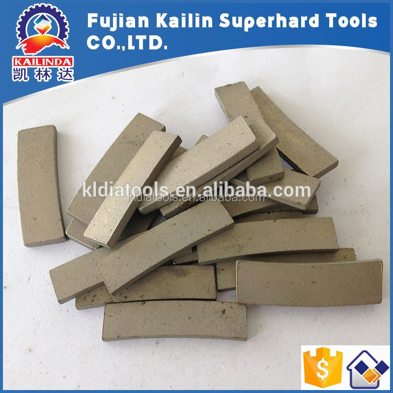 Laser/Silver Welded Reinforce Concrete Core Drill Bit Diamond Segment Cutting Teeth for Construction Use On