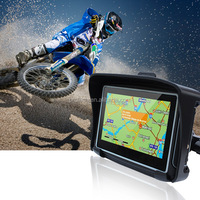 Terrain 4.3 Inch Motorcycle GPS Navigation System Handheld GPS
