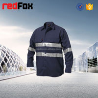 industrial multi pockets safety workwear workwear short pants 100% cotton fireproof workwear fabric