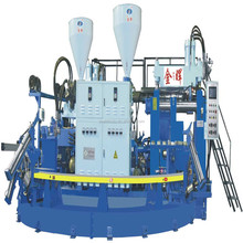 Automatic Two Color PVC Plastic Jelly and Air Blowing Shoe Making Machine
