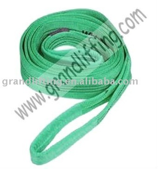 2T polyester webbing sling safety factor 7:1