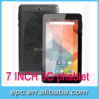 phablet unlocked 7 inch Tablet with sim card slot MTK Quad Core 1GB RAM 8GB ROM Android 5.1 OS 1024*600 IPS