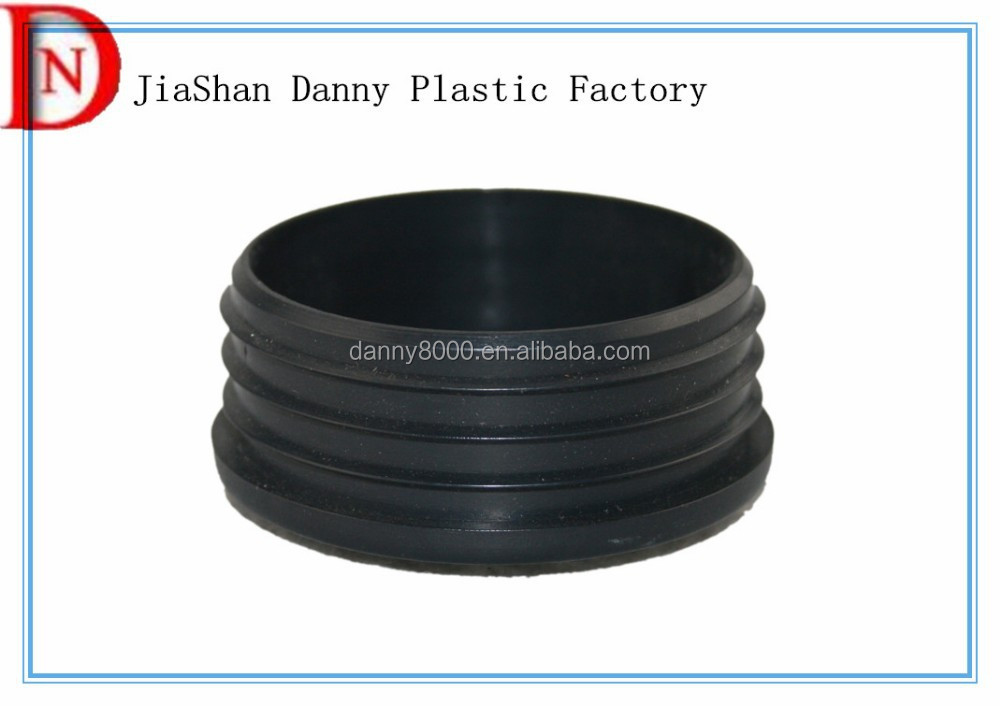 OEM plastic parts PP plastic pipe plug for office furniture(DN-02075)