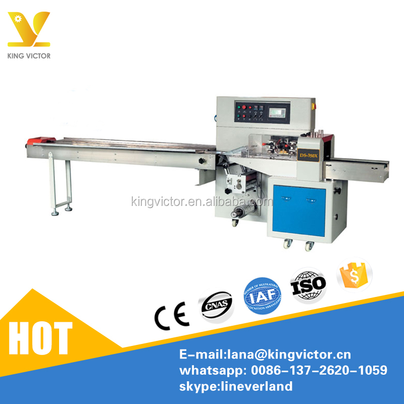 Horizontal Pillow Chicken legs/wings chicken packing machine