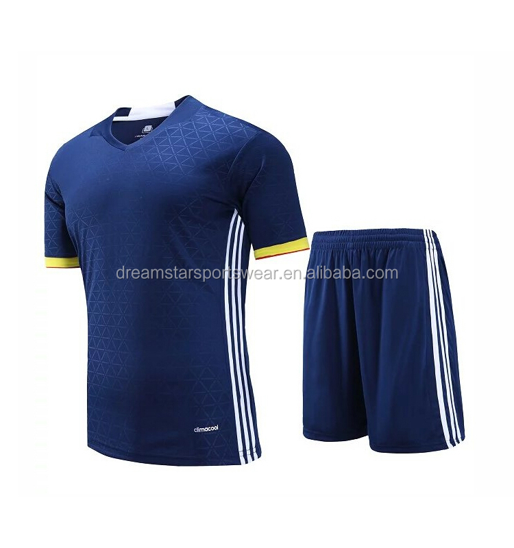 New Soccer Team Kits Top Quality Soccer Uniform