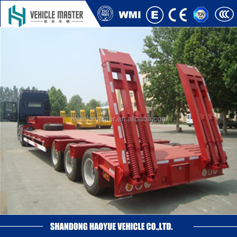 60 ton Low bed trailer dimensions
