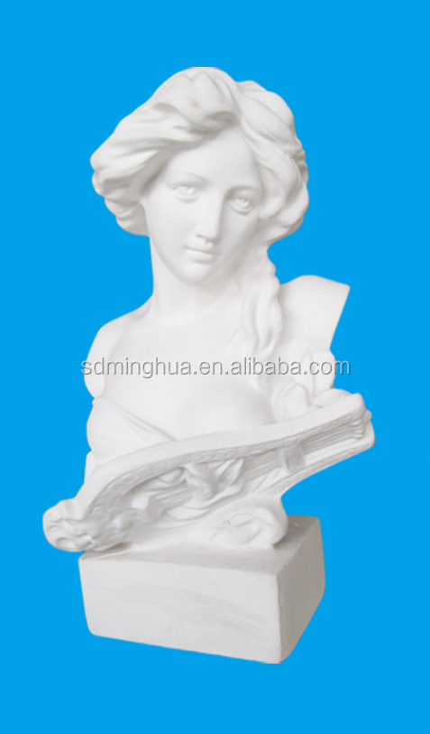 high quality Gypsum sculpture model for art drawing