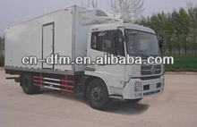 LHD Refrigerated Truck/freezer van truck for sale