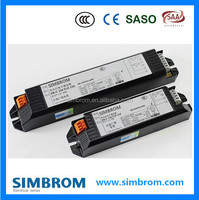 SAA,TUV CERTIFICATES high quality T8 2x36w electronic ballast