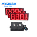 Hidly 12 Inch Red Outdoor LED Gas Price Display