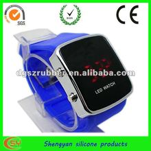 2012 new design colorful touch screen led watch