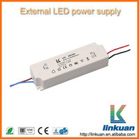 IP30 plastic case 20w high pf constant current led power supply LKAD030F