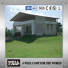 holiday resort villa prefabricated house/prefab house concrete villa for sale