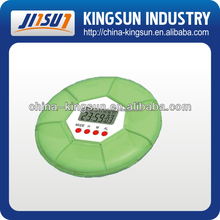 New professional digital medical pill box with timer