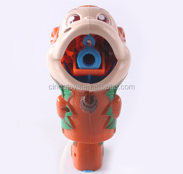 Promotion outdoor play game plastic Soap blow bubbles for kids