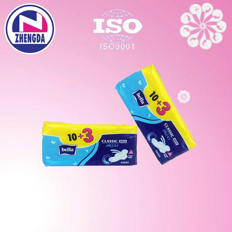 bella straight sanitary napkin best sale in Africa OEM from China factory