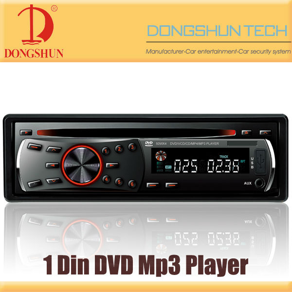 made in china 1 Din car DVD Mp3 player