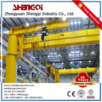 Workshop Cantilever Jib Crane With Electric Hoist 2 Ton