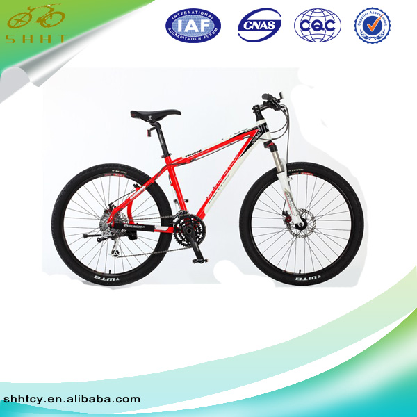26''21 speed mountain bike/bicycle with aluminum bicycle frame