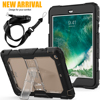 Latest Shoulder Strap Clear Back Cover For iPad Mini 3