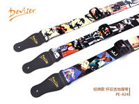 guitar parts guitar strap guitar accessory with colorful picture