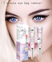 Free samples free shipping anti eye bag under eye treatment no animal tested eye firming serum with 1 minute