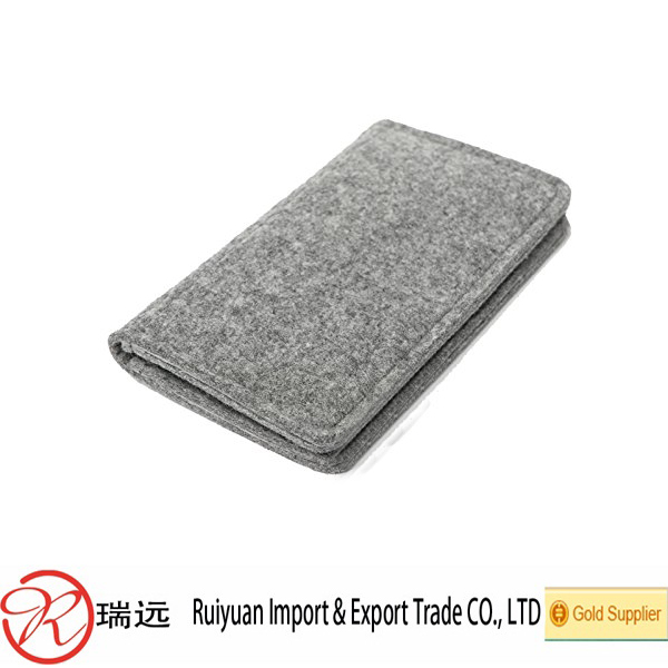 Promotional high quality felt mobile phone bag/case/pouch