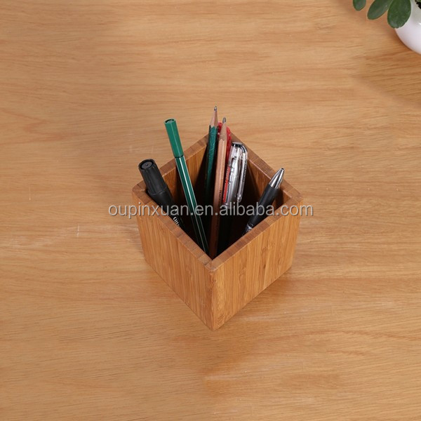 2015 new living room furniture accessory,square stationery desk pen holder
