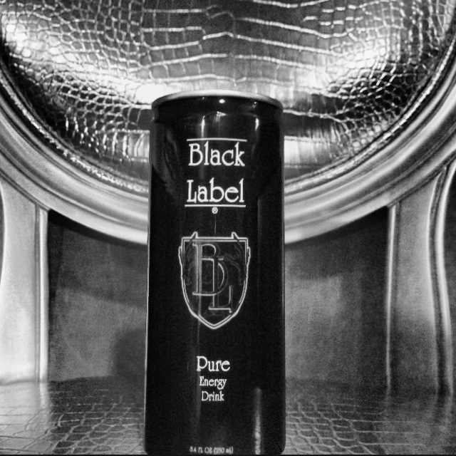 Black Label Pure Energy Drink