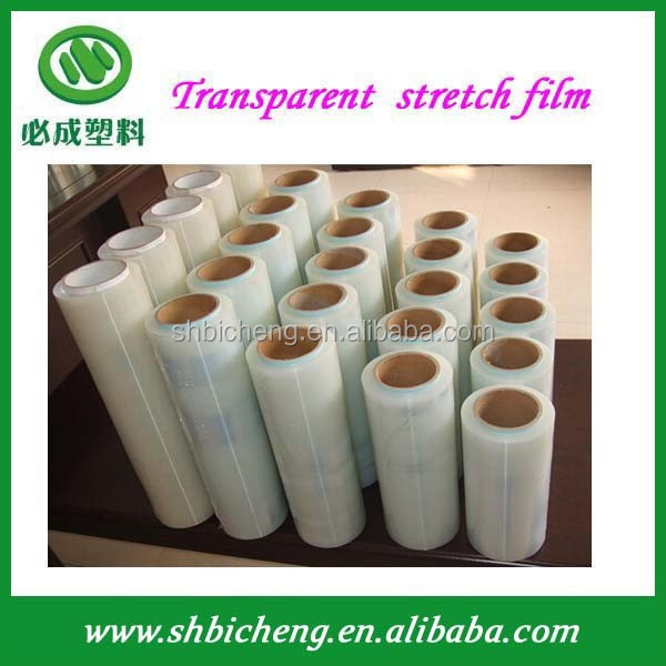 20 Micron Stretch Wrap/Plastic Stretch Film/ Hand Pallet Shrink Wrap Factory