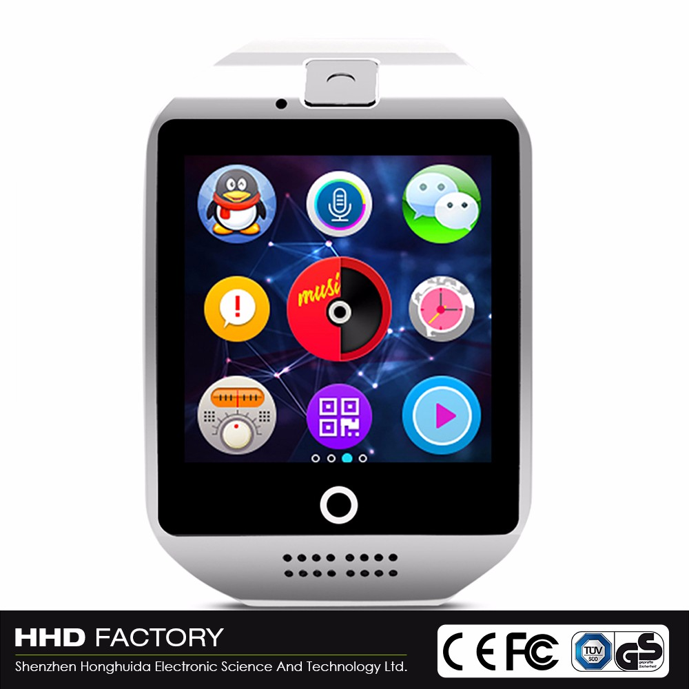 Cheap supplier black call reminder MTK6260A 500mah gsm android kids smart watch with camera and sim card