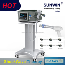 Portable Extracorporeal electric physical Shock Wave Therapy Equipment/ device for Chronic Pain /muscular pain
