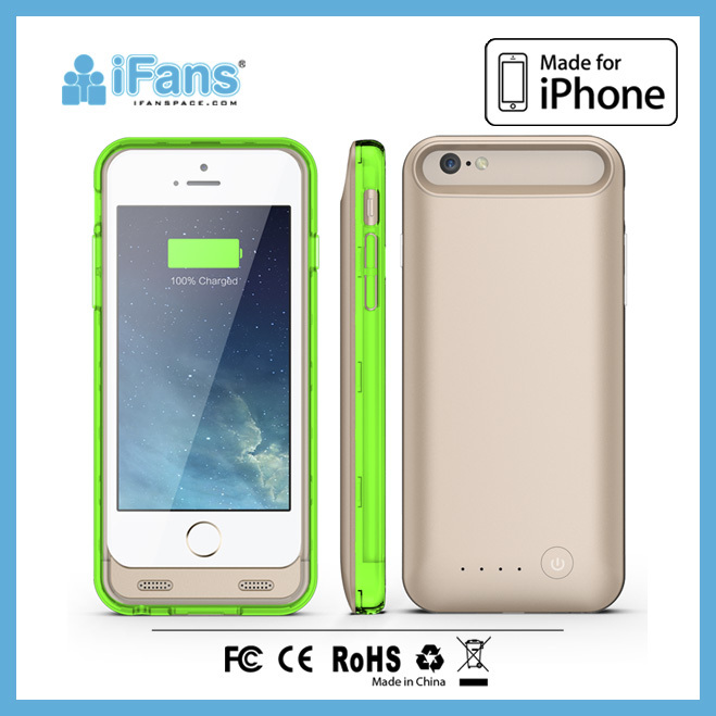 Battery Pack For iPhone6 4.7 '' 2400mah in slim design