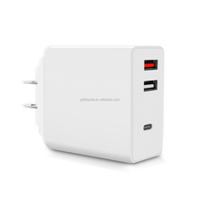 One USB Wall Travel Charger Multi Port Cell Phone Fast Charger QC3.0 Mobile Charger Qualcomm QC 3.0 Quick Charge