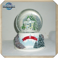 Christmas gifts to friends and family small corporate gifts customized artificial decorative tree / snowball