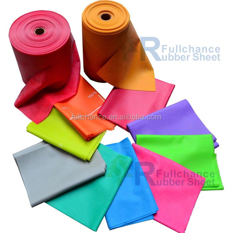 Thickness 0.3mm Natural Latex Rubber Sheet