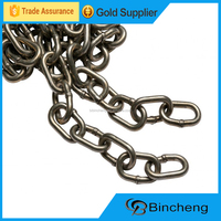 Electric galvanized DIN766 short iron link chain