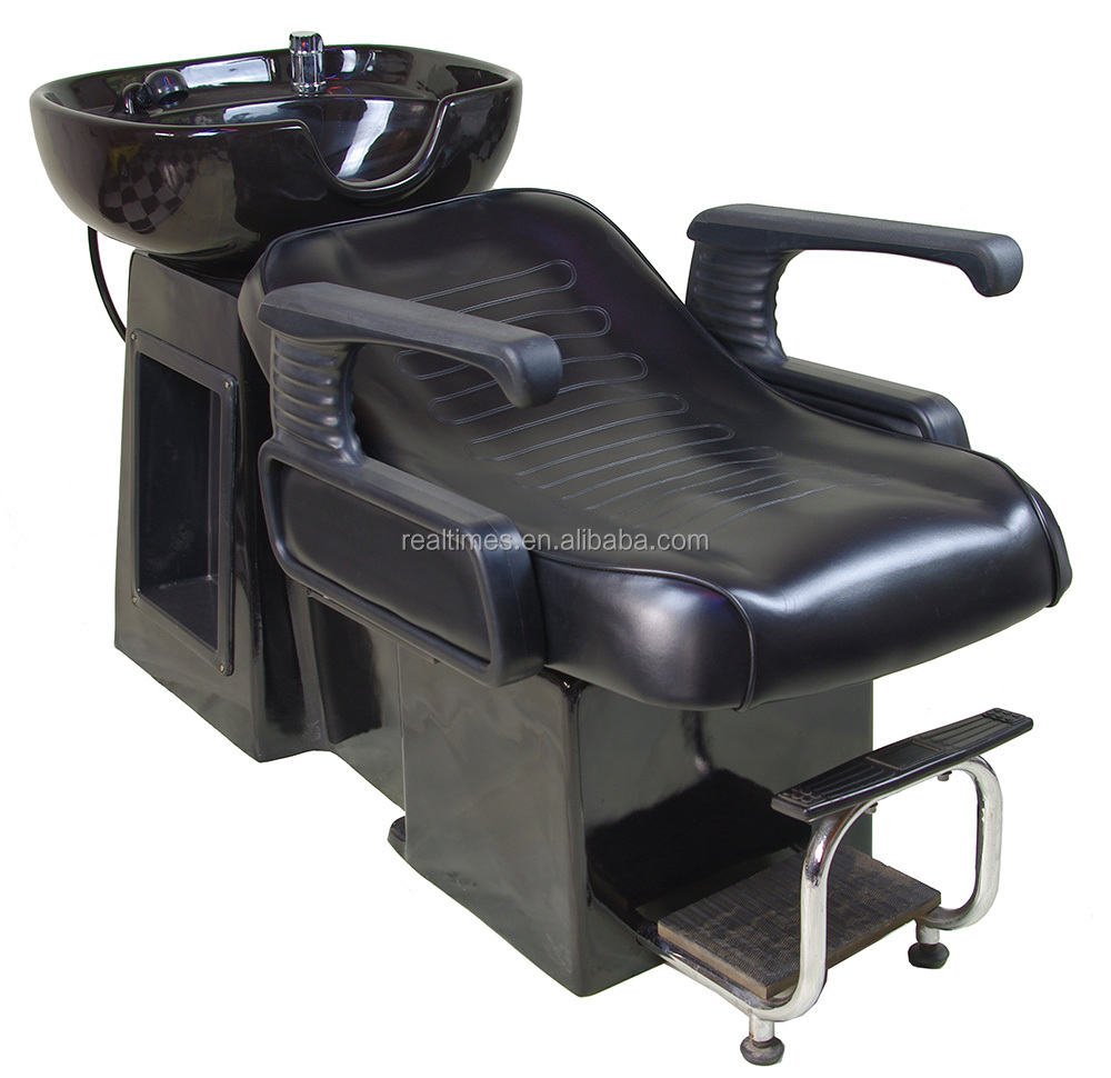 WT-8261 Beauty Salon Back Wash chair Shampoo Sink Bowl with chair hair washing unit