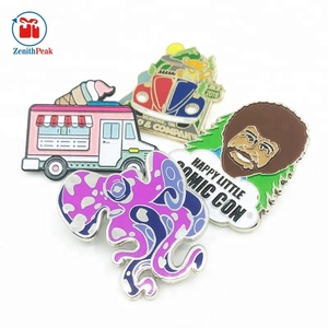 Cheap price die casting custom lapel pin badge no minimum