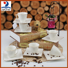 High quality pretty ceramic tea cup set/coffee cup set on sale