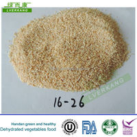 Natural white dehydrated garlic price in china, garlic granules from Yongnian, China