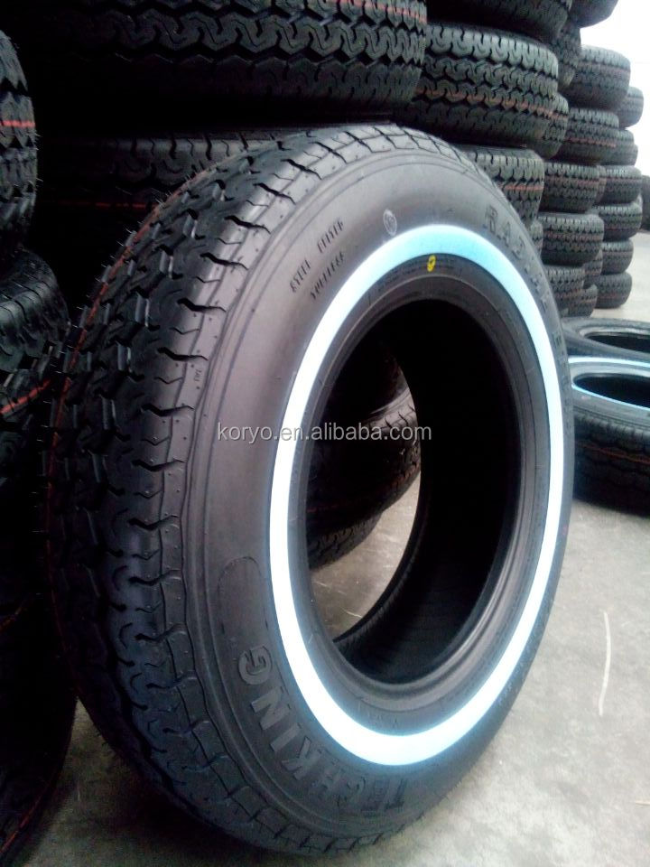 195r15 white wall car tyres