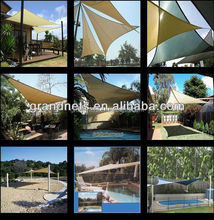 My factory is in the production of waterproof shade sail