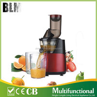 Manufacturer Newest Design High Quality whole apple Slow Juicer cold press juicer