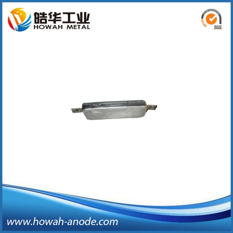 Aluminum Hull Anode for Cathodic Protection