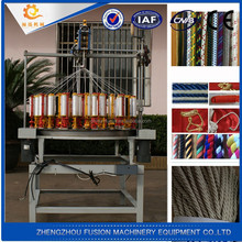 Hot selling !! High speed cord braiding machine / braiding machinery / used rope braiding machines