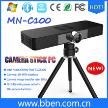 802.11a/b/g/n/ac 2.4G&5G bluetooth 4.0 mini pc with camera lens and micro USB interface